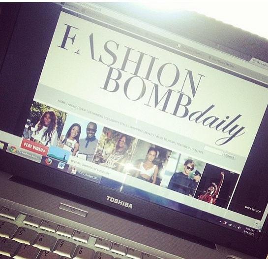 fashion bomb daily redesign