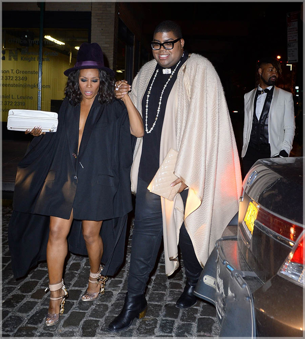 _June-ambrose-ej-johnson-ty-hunter-dsquared-fall-2014-perspex-gilded-sandals