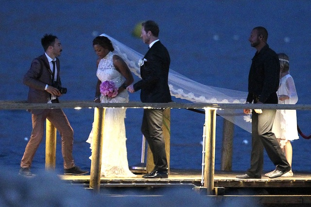 Rapper Eve and Maximillion Cooper tie the knot in Ibiza  **USA ONLY**