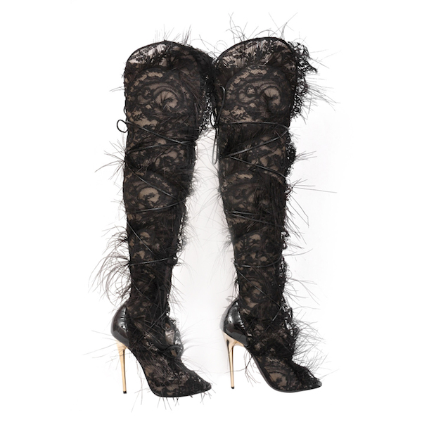 keshia chante 106 park tom ford feather boots