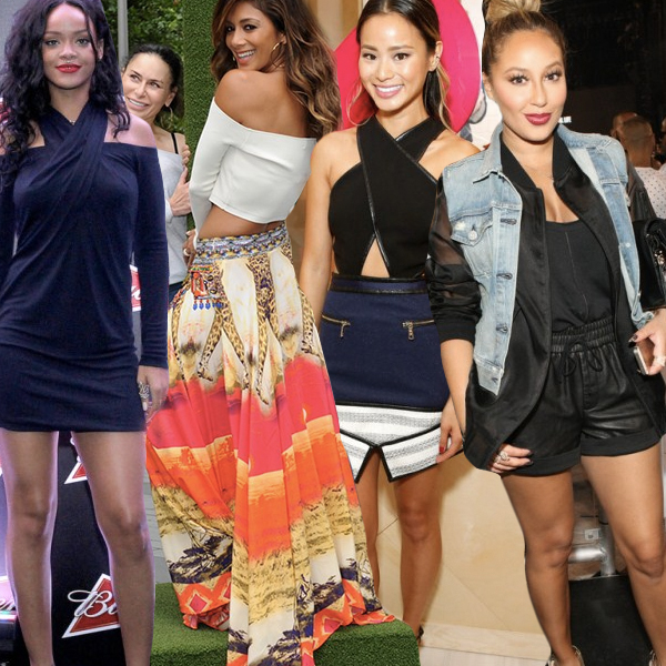 600-Weekend Hot! Or Hmm… Rihanna, Adrienne Bailon, Jamie Chung, And More!