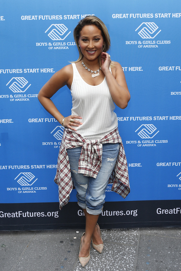 Adrienne Bailon- Boys Clubs of America Launch in NYC