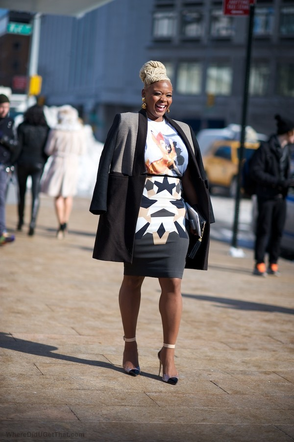 claire sulmers givenchy fashion week fashion bomb daily glamour street glam