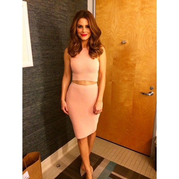maria-menounos-instagram-jonathan-simkhai-crop-top-pencil-skirt