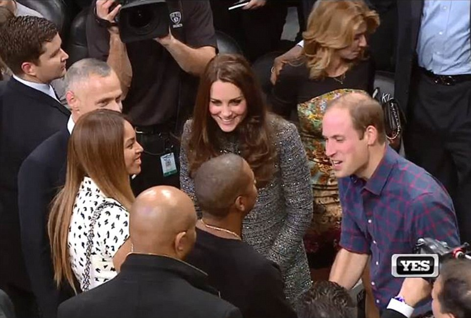 which university did prince william and kate meet lebron