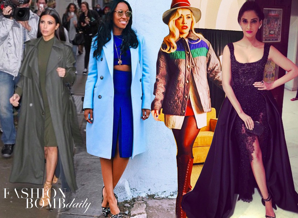 Weekend Instagram Hot! or Hmm…- Kim Kardashian-West, Angela Simmons, Rita Ora & more!