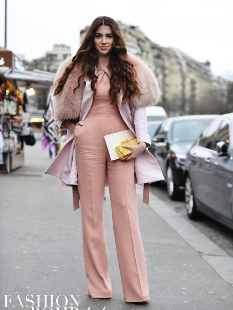 This all pink ensemble is chic personified. Image by David Nyanzi