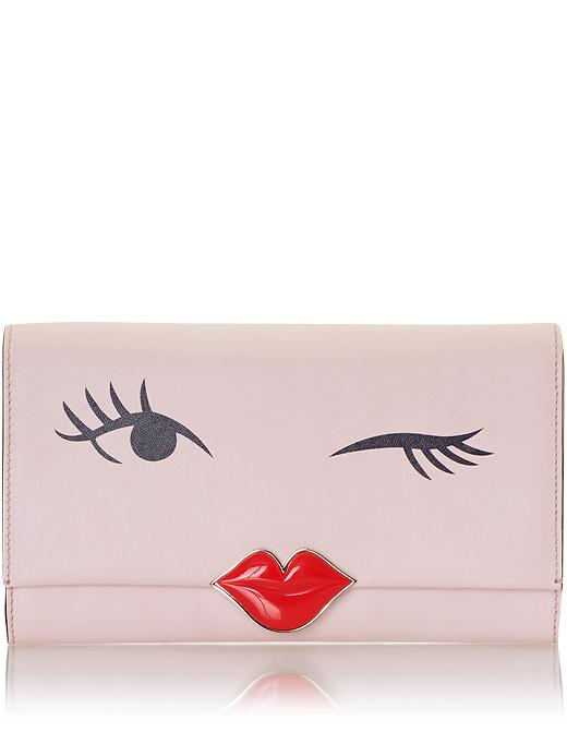 kate spade new york birds wink clutch love