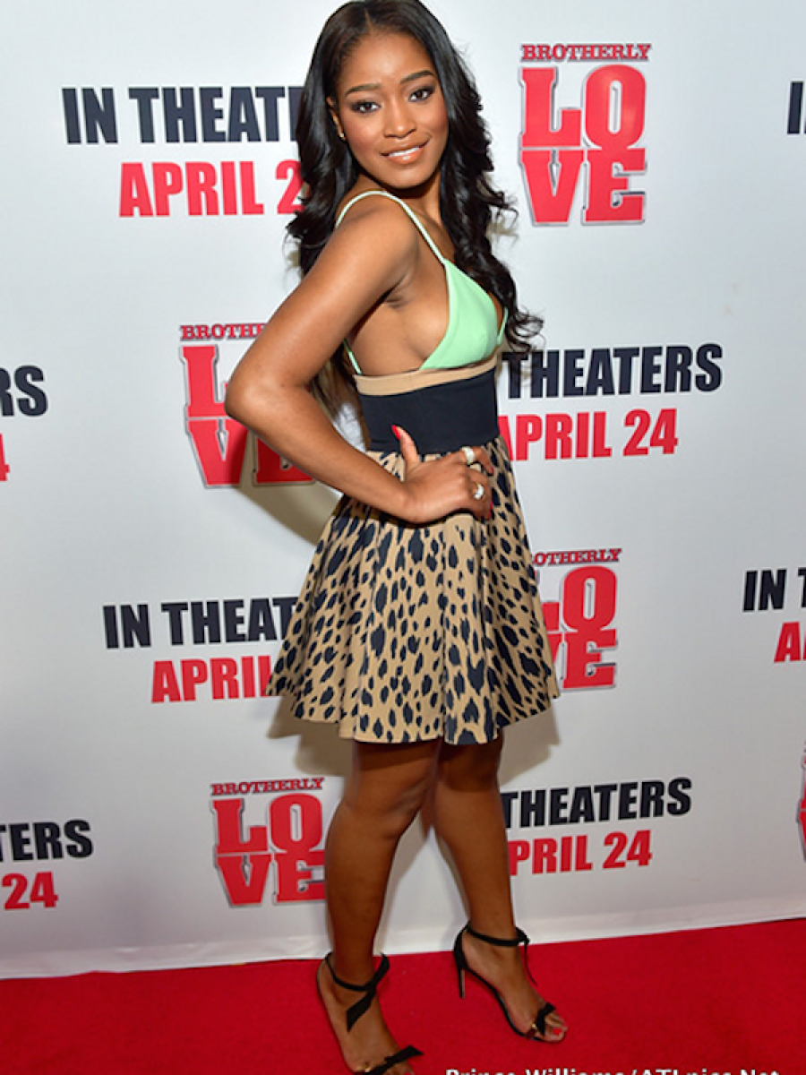 Keke Palmer blessed the red carpet of the Brotherly Love premiere in Atlanta. Gorgeous