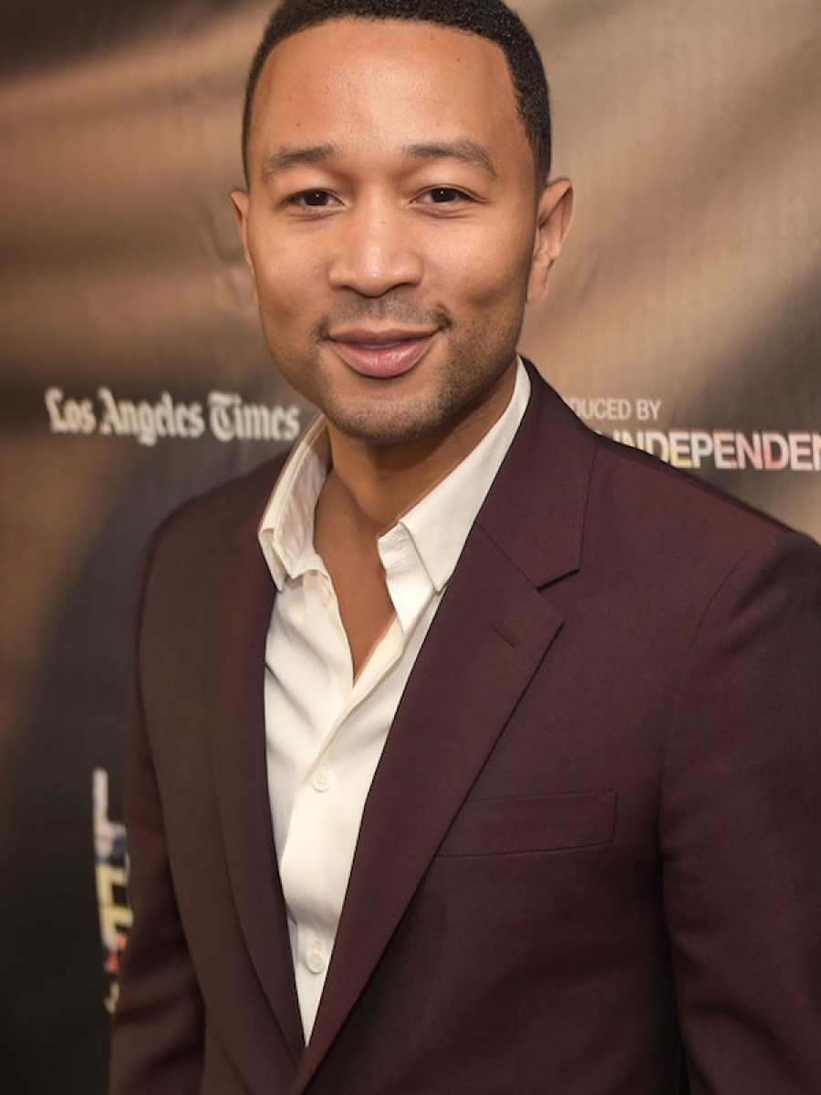John Legend skewed dapper at the Can You Dig This premiere at L.A. Live.