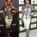 _Naturi-Naughton-vs.-Angela-Bassett-in-Byron-Lars-Purple-and-Green-Silk-Patchwork-Dress