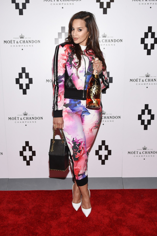 dasha polanco moet nectar rose launch