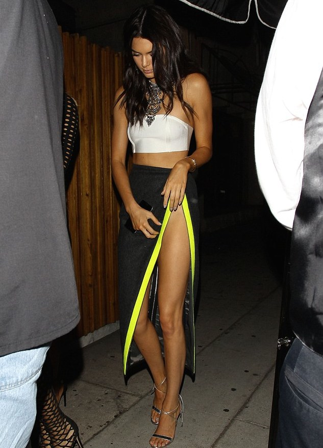 kendall jenner Kylie Jenner's 18th Birthday at the Nice Guy