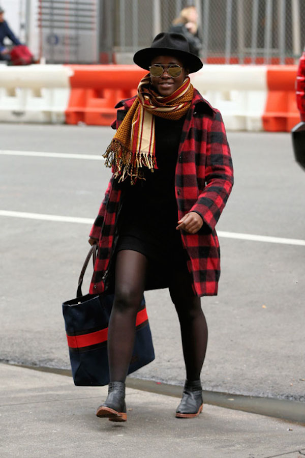 Lupita Nyong'o went for casual and sleek while out in New York City.