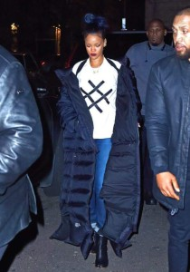 Steal: Rihanna's New York City Lucid Footwear White Logo T-Shirt