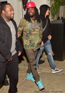 Men's Fashion Flash: Wale's Soho Lounge Supreme Camouflage Twill Coaches Jacket