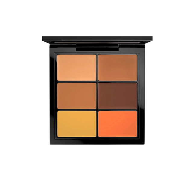 5 Products From Leomie's Anderson's Black Model Survival Kit You Need Now mac studio conceal correct palette dark