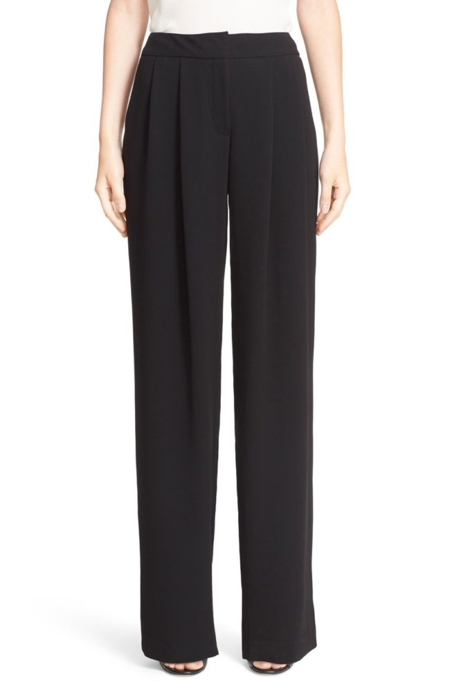 yigal-azrouel-wide-leg-crepe-pants