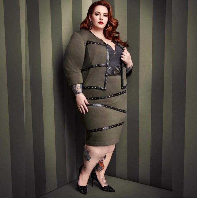 0746471d24 Plus Size Fashion News  Size 22 Model Tess Holliday Takes on New ...