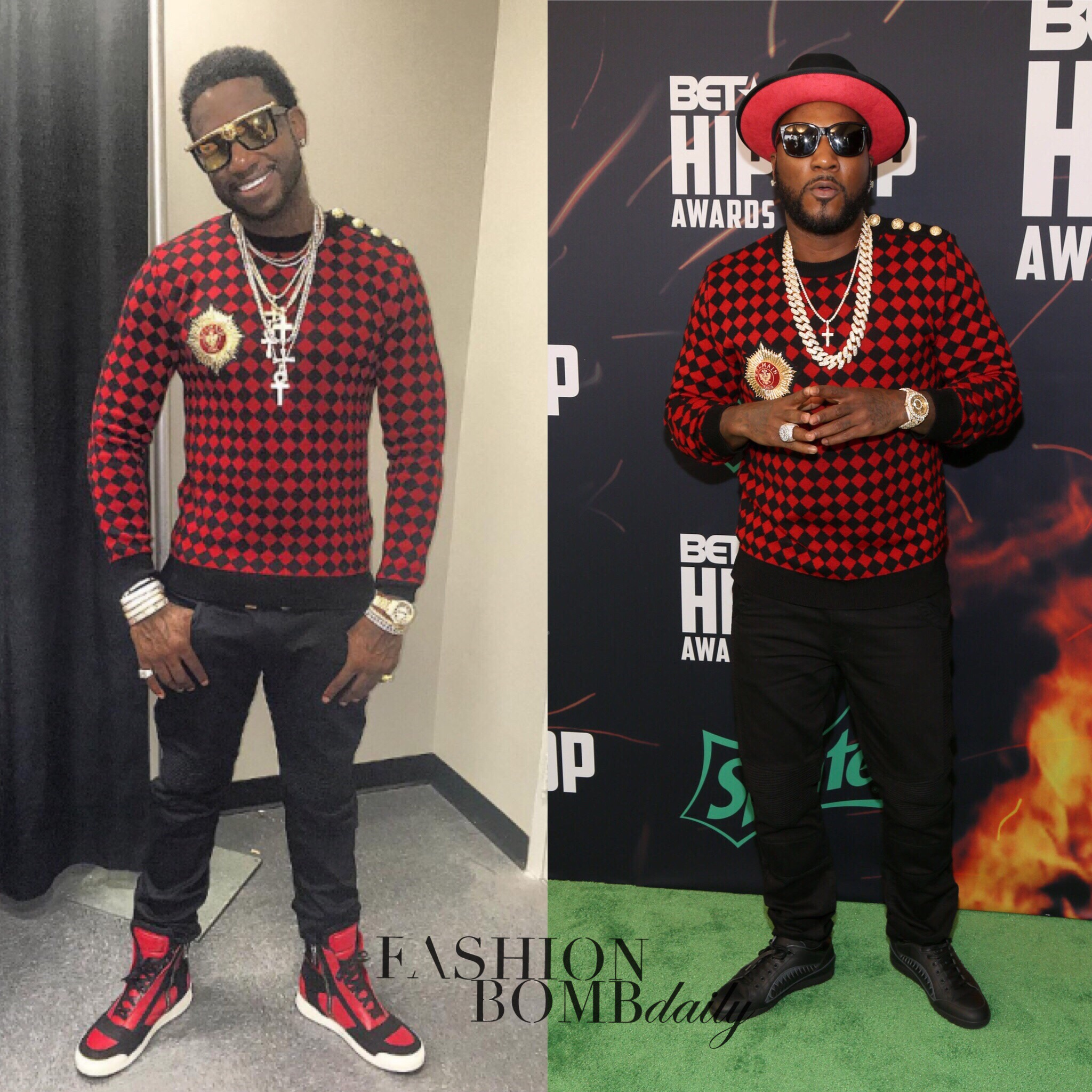 Who Wore It Better Gucci Mane Vs Young Jeezy In Balmain