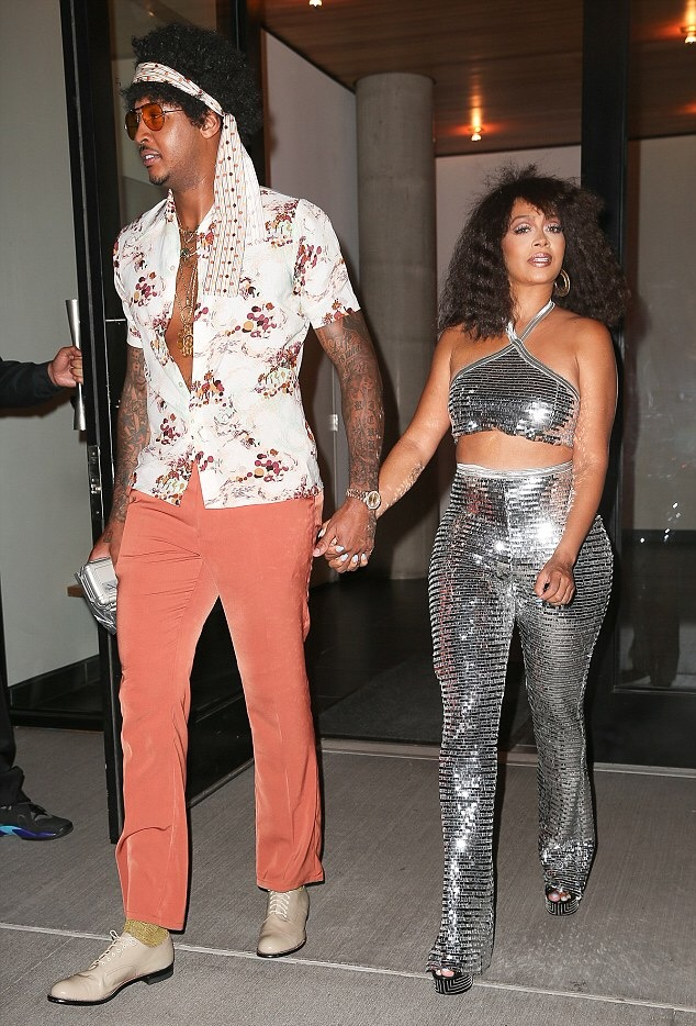 On The Scene Beyonces Soul Train Themed 35th Birthday Party Featuring Solange Knowles Kelly