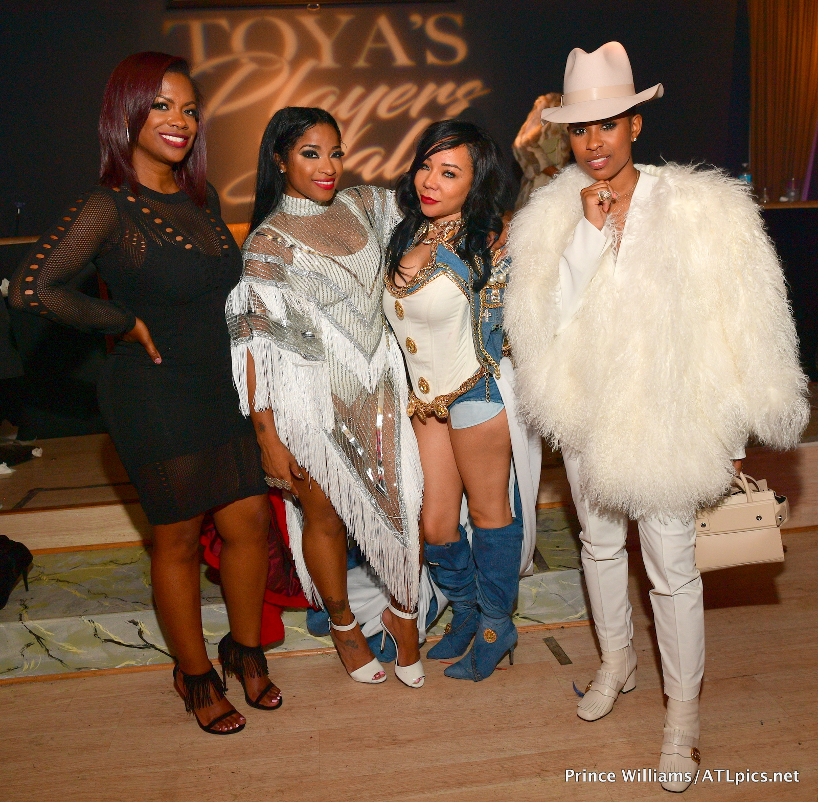 On The Scene Toya Wright S Player S Ball Halloween Party