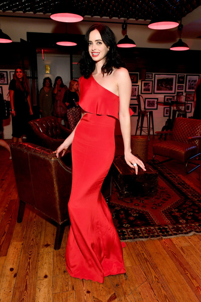 Splurge Krysten Ritter S Marvel S The Defenders Nyc