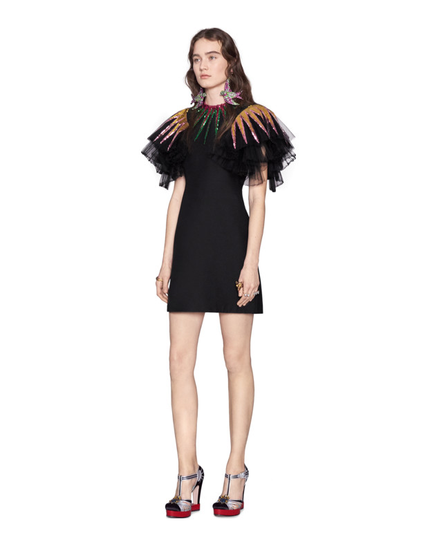 85524575 Your office party isn't ready for you to steal the show in this artsy  number. This is the ultimate LBD (little black dress) with a twist!