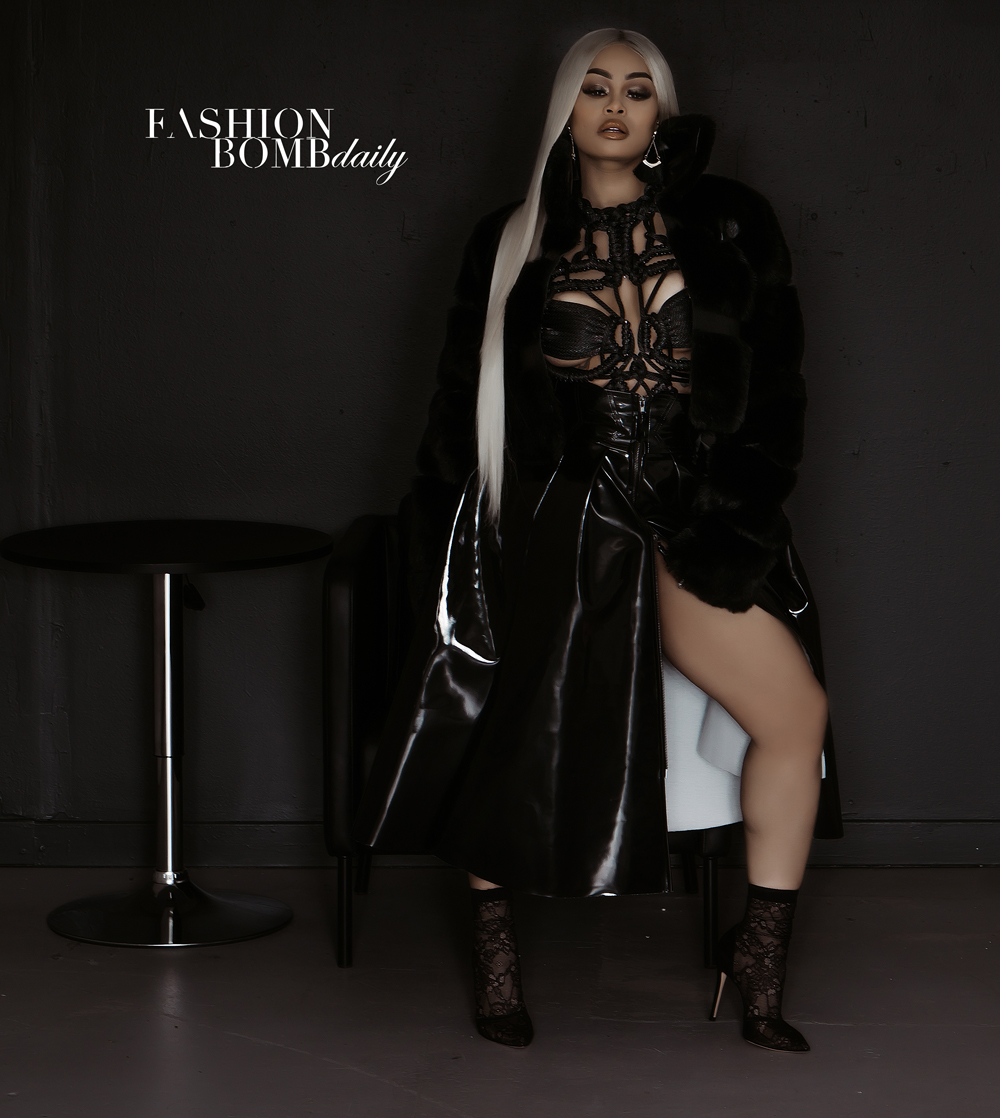 Blac Chyna Styled By Eric Burns For Fashion Bomb Daily Fashion Bomb Daily Style Magazine