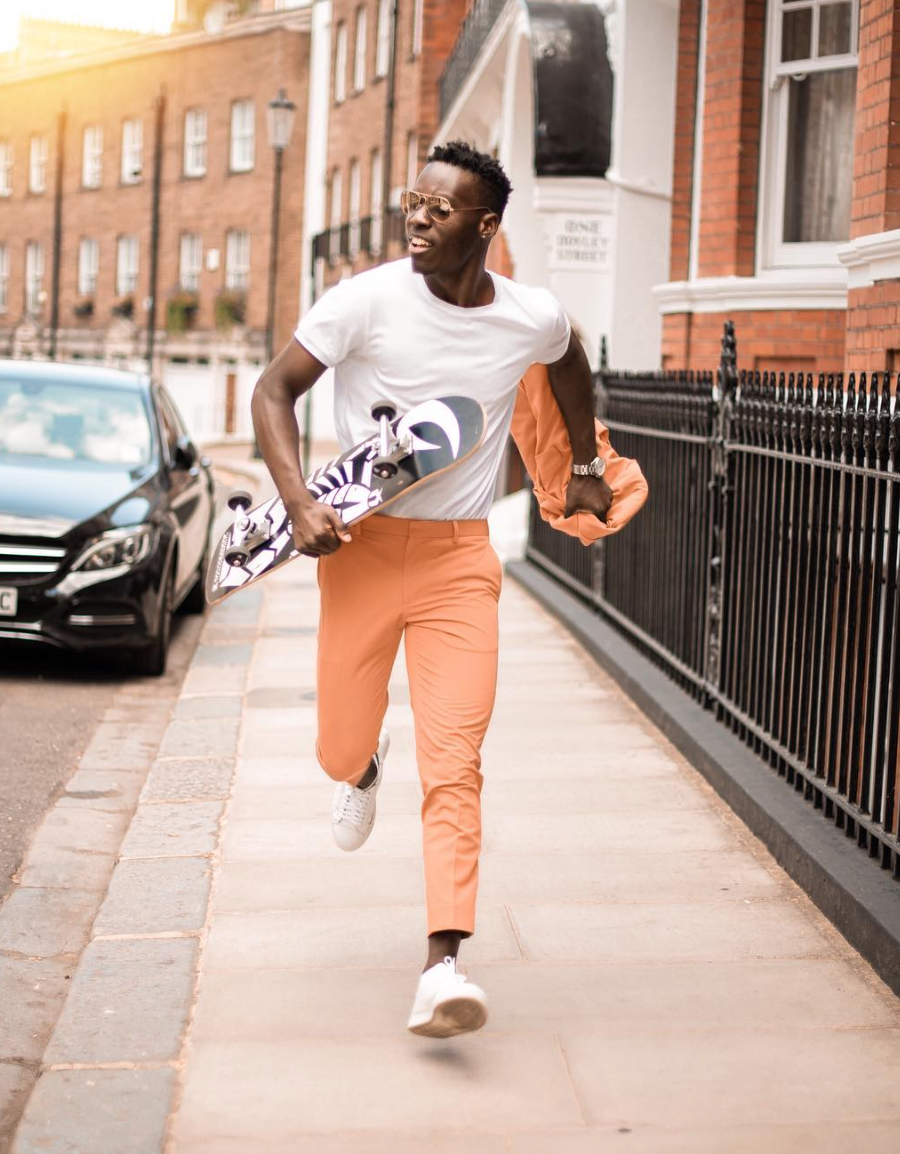 Fashion Bomber of the Day: Solomon Based in London