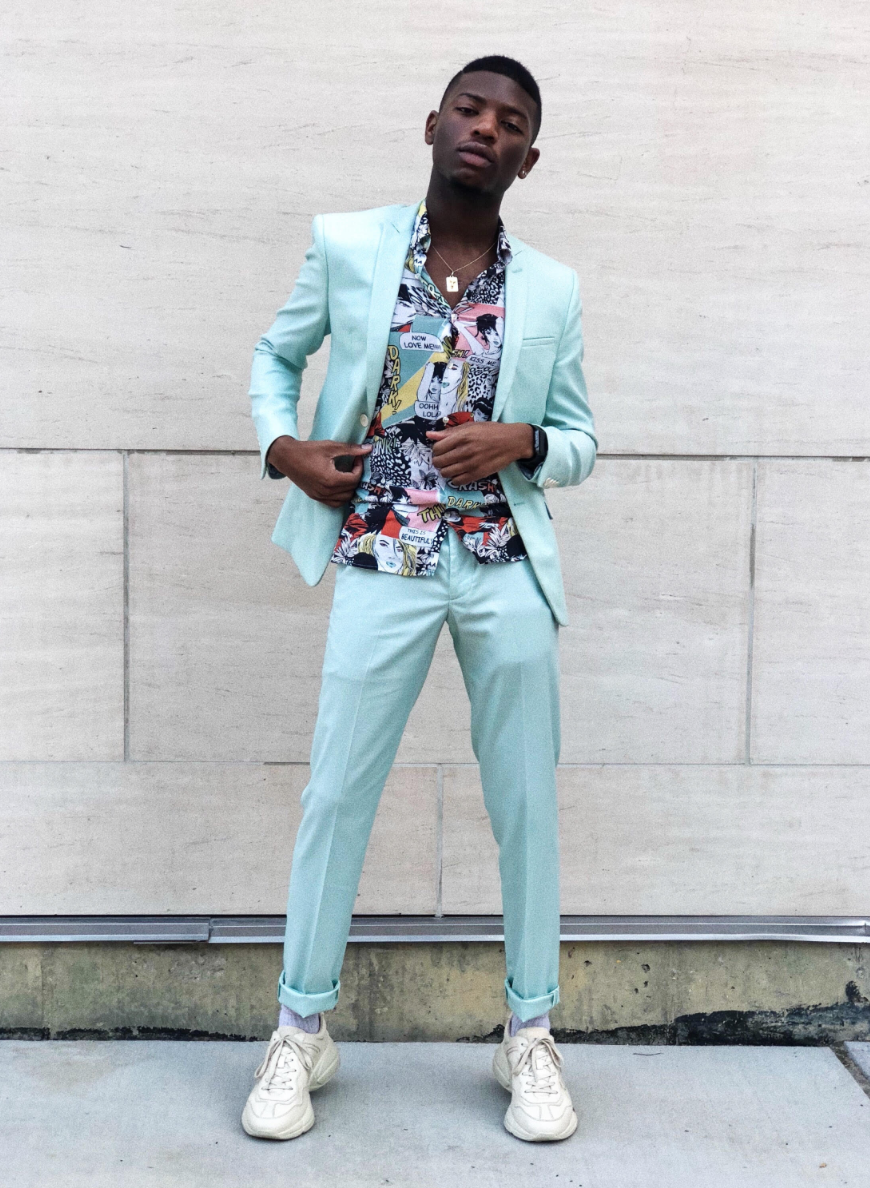 Fashion Bomber of the Day: Nikko from Dallas