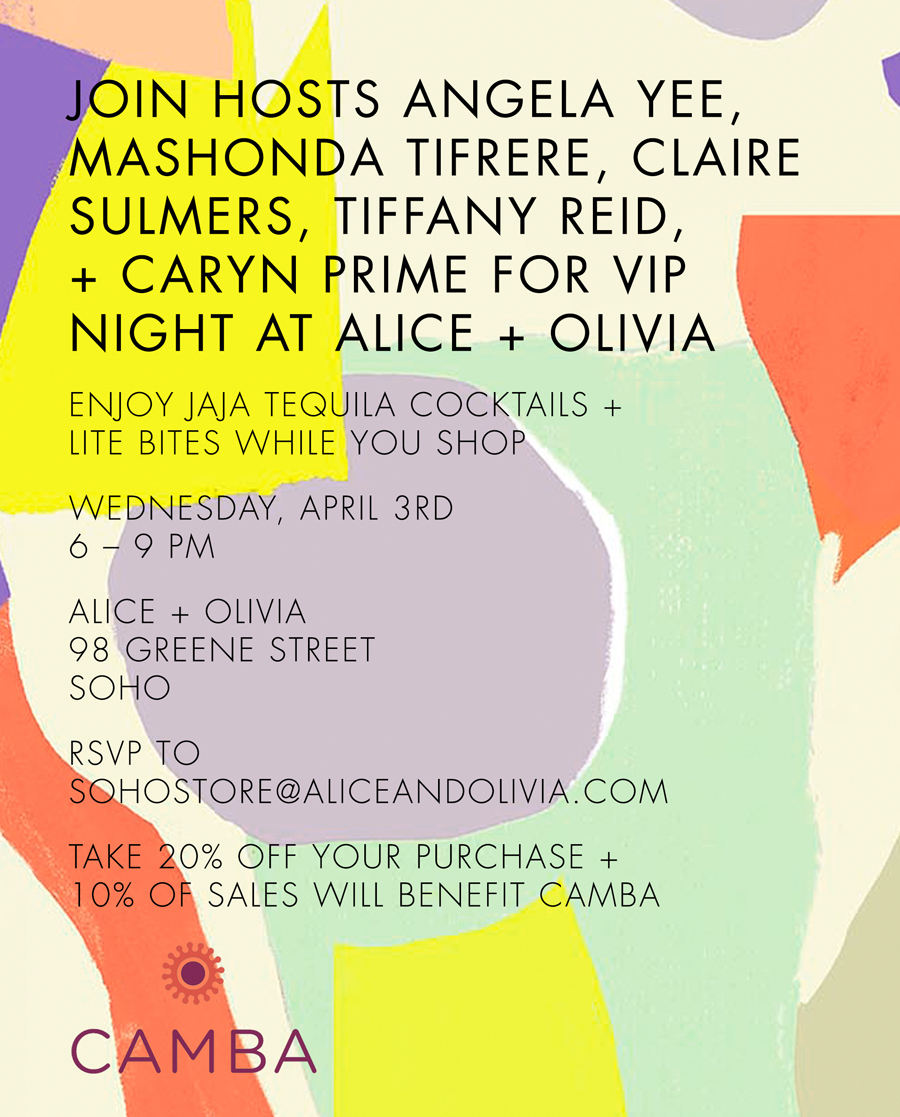 Upcoming Events: Shopping at Alice & Olivia in Soho, Convos with Claire Memphis, Curltastic, and More!