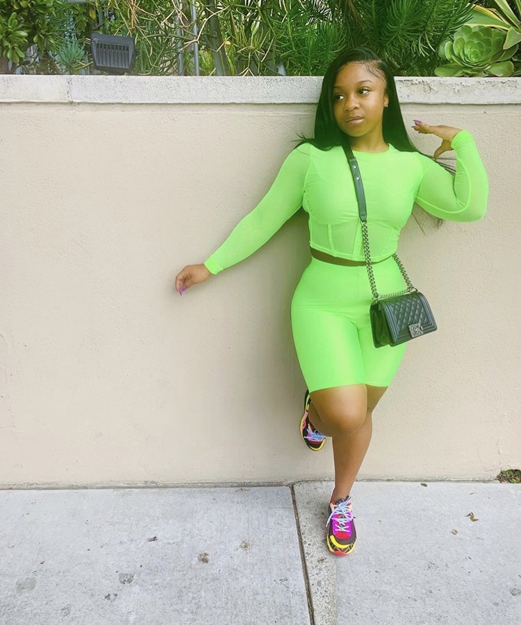 Reginae Carter Proves Just Why Neon Is So In for the ...