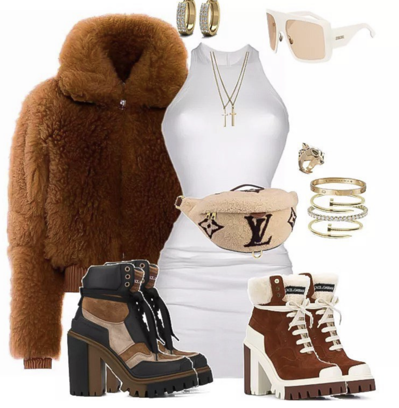 Winter_Style_Inspiration_Acne_Brown_Fur_Bomber_Jacket_with_Dolce_and_Gabbana_Boots_and_Louis_Vuitton_Fanny_Pack_by_
