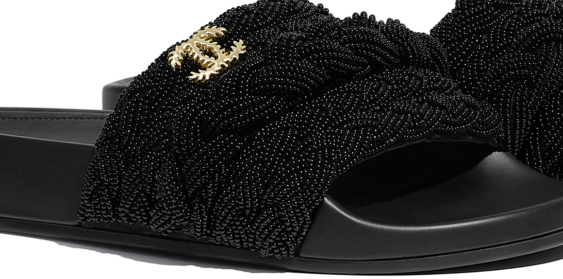 Bomb_Product_of_the_Day_Chanel_Black_Pearl_Slides_2