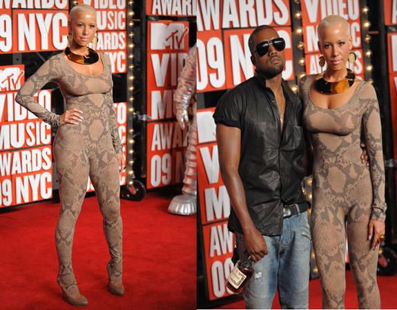 Kanye West Amber Rose MTV Video Music Awards