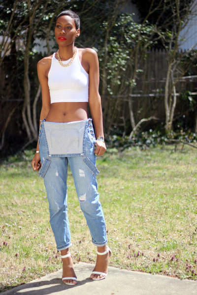 fashion bombshell of the day jennifer from d.c. asos-pants-american-apparel-top_400