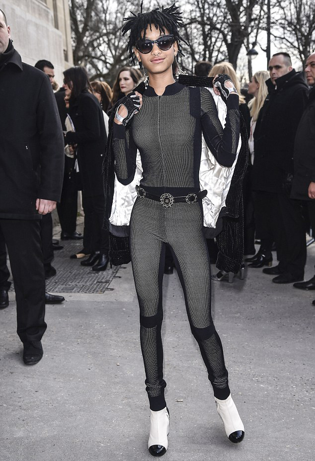 1 jada pinkett smith Chanel Names Willow Smith Its Newest Brand Ambassador