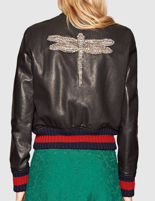 Gucci-fall-2016-leather-embroidered-bomber-jacket-back