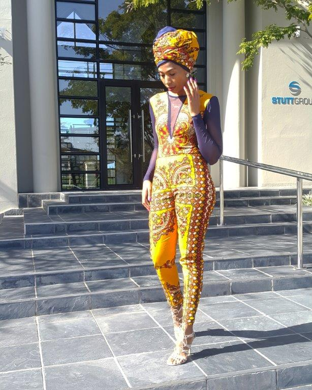 fashion bombshell of the day zandi from south africa