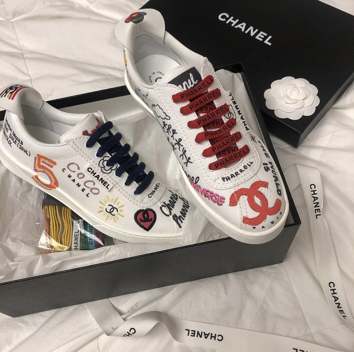 chanel pharrell loafers price
